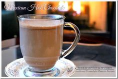 Mexico in my Kitchen: Mexican Hot Chocolate and Homemade Mexican Chocolate Mix
