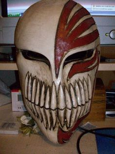 Hollow ichigo mask made in Nuevo Laredo, Mexico