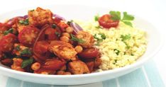 Try this healthier, low in saturated fat recipe for Moroccan Tagine with chicken and chickpea. Click to get more low calorie meal ideas from Quorn.