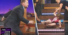 James Corden Gets Tricked By Katie Couric And Is Totally Suckered In
