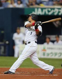 1回、3点本塁打を放つ、オリックス・中島=京セラドーム大阪(撮影・山下香)