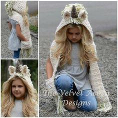 Unicorn Crochet Hat Scarf Pattern Is A Must Make