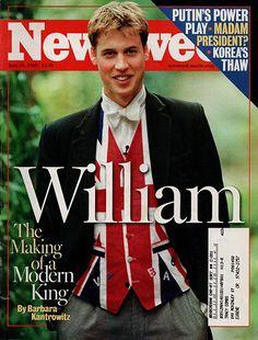 Prince William The Making of a Modern King June 26 2000 Newsweek Magazine
