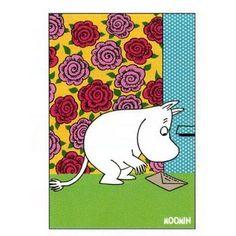 Moomin Postcard (rose)