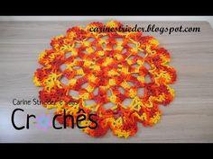 Sousplat Mandala em crochê por Carine Strieder - YouTube