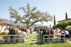 Ojai Valley Inn Wedding Ceremony // Classic Bride: Classic Summer California Wedding {with two gowns!} Preppy + Polished Wedding Style // Planning and Coordination by All You Need is Love Events and Photos by Christine Chang Photography