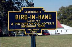 Amish heartland of Pennsylvania.