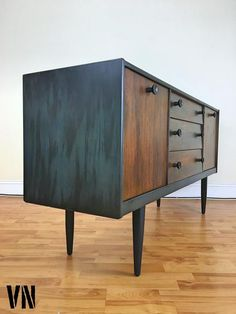 we restore and upcycle vintage pieces of furniture to create and entire new product of higher value in terms of both quality and functionality Retro Sideboard, Mid Century Sideboard, Teak Sideboard, Sideboard Furniture, Teak Furniture, Recycled Furniture, Furniture Makeover, Painted Furniture, Furniture Design