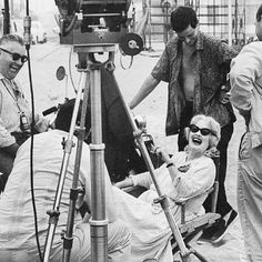 Filming the beach scene of whatever happened to baby jane