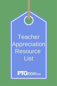 Get our comprehensive list of teacher appreciation resources: Gift ideas, event planning & more!