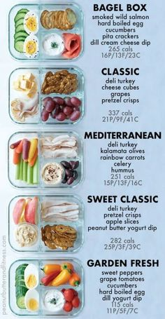 Bento Box Snack Prep Ideas – delicious ideas for meal prepping your snacks! Incl… Bento Box Snack Prep Ideas – delicious ideas for meal prepping your snacks! Includes nutrition information and scannable My Fitness Pal barcodes. Healthy Food Recipes, Healthy Snacks To Buy, Healthy Toddler Snacks, Easy Snacks, Clean Eating Snacks, Healthy Drinks, Lunch Recipes, Eating Healthy, Lunch Snacks