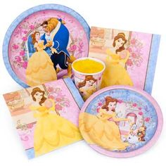 Disney Princess Party, Beauty and the Beast party supplies