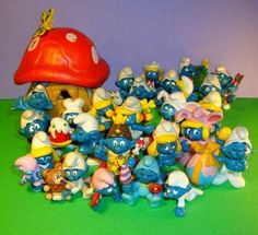Smurf Figures | 35 Awesome Toys Every '80s Kid Wanted For Christmas