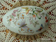 1974 Avon Fine Porcelain Egg Trinket , via Etsy.
