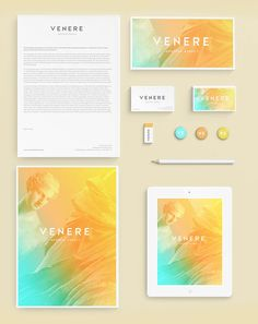 Venere® hostess agency - Brand Identity Design by Attila Horvath