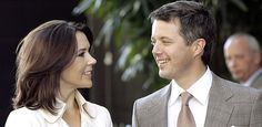 Mary i Fryderyk - księżna koronna i książę koronny Danii