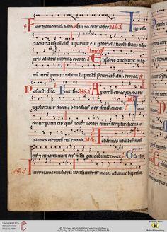 Antiphonarium Cisterciense Salem, um 1200 Cod. Sal. X,6b  Folio 94v