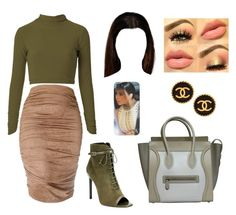 """""""KK Style❤️"""" by fromlovetohate ❤ liked on Polyvore featuring Yves Saint Laurent, CÉLINE, women's clothing, women, female, woman, misses and juniors"""
