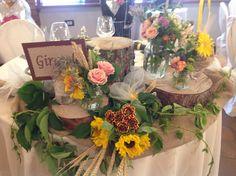Wedding table country - chic alla Cassina Pelada
