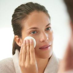 Use astringent or toner | http://www.hercampus.com/school/vcu/10-oily-skin-care-and-makeup-products-use-summer