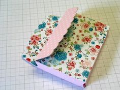 http://4needlework.ru Органайзер для визиток и листков для записей