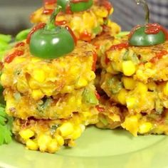 recipe for jalapeño corn fritters is about to be. Jalapeno Corn Fritters Recipe, Corn Fritter Recipes, Side Dish Recipes, Vegetable Recipes, Great Recipes, Favorite Recipes, Yummy Recipes, Mexican Food Recipes, Vegetarian Recipes