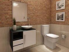 Gabinete para Banheiro com Cuba e Espelho 1 Porta - 2 Gavetas - VTec Sol com as melhores condições você encontra no Magazine Edmilson07. Confira!