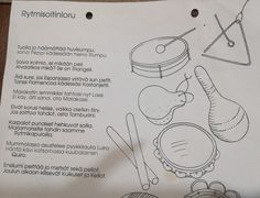 Teaching Kindergarten, Preschool, Finland, Things To Do, Bullet Journal, Iphone, Kids, Flamingo, Music