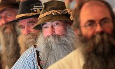There were some hairy moments at this year's festival as marvellous moustaches and swashbuckling sideburns packed out the contest in Chur, Switzerland.
