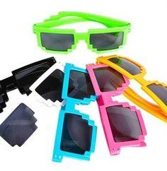 Sweet 16 color splash party summer sunglasses