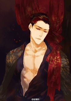 Visit the post for more. Handsome Anime Guys, Boy Art, Chinese Art, Laos, Art Drawings, Manga, Painting, March 3rd, Sexy