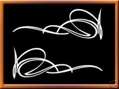 Von Dutch Pinstriping | Pinstriping Decal Pinstripe Custom Culture Von Dutch