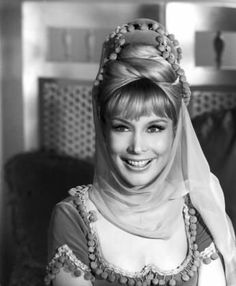 """Barbara Eden in character as """"Jeannie"""" from I Dream of Jeannie, 1965-1970"""