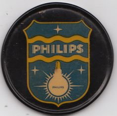 PHILIPS  BULB ADVERTISING ON A POCKET MIRROR