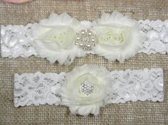 Check out this item in my Etsy shop https://www.etsy.com/listing/214300834/ivory-wedding-garter-bridal-garter