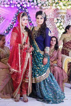 Khada Dupatta |Hyderabadi Bride