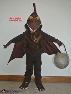 DIY Pterodactyl Costume