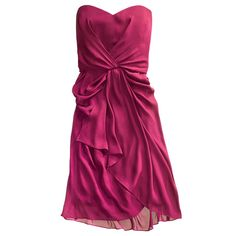 Love the style, not so much the color. Summer bridesmaid dress by Max and Cleo.