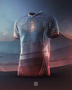 Corinthians on Behance Clothing Photography, Football Kits, Sports Shirts, Shirt Dress, T Shirt, Mens Fashion, Jersey Designs, Outfits, Clothes