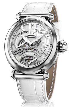 "skeleton watches for women | ... presents the new ""Merea TriRetrograde Skeleton"" - Basel/SIHH 2013"