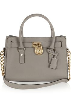 Hamilton leather tote by MICHAEL Michael Kors