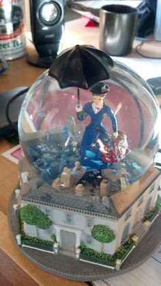 mary poppins snowglobe