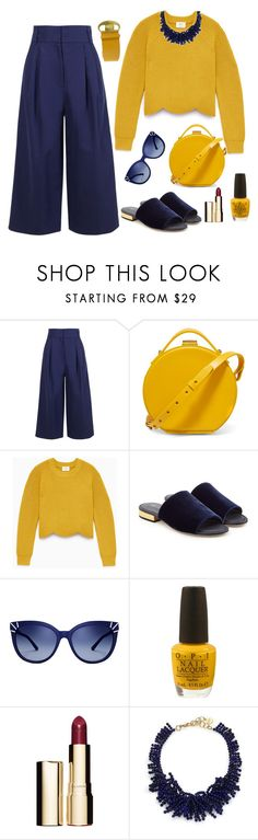 """""""Untitled #2200"""" by ebramos ❤ liked on Polyvore featuring TIBI, Nico Giani, Diane Von Furstenberg, Tory Burch, Clarins, Nest and Michael Kors"""