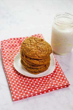 Galletas de calabaza licuadora sin gluten (vía abeautifulmess.com)