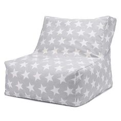 Like all our bean bags for kids, our grey stardust design has a machine washable cover. Find out more about our cosy bean bag chairs at Great Little Trading Co.
