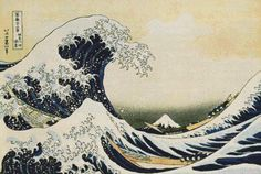 The Great Wave Off Kanagawa Cross Stitch Pattern