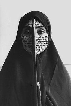From my fav Iranian Artist, Shirin Neshat...