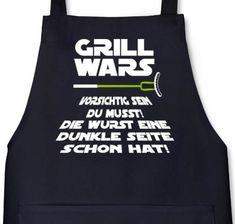 http://ift.tt/1IbSo75 Lustige Grillen Barbecue Schürze von Shirtstreet24 mit Dunkle Seite Grill Wars Aufdruck Größe: onesizeSchwarz @Checkingooo%%