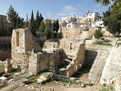 History of Pool of Bethesda | The Pool of Bethesda – Jerusalem | OrthodoxWord