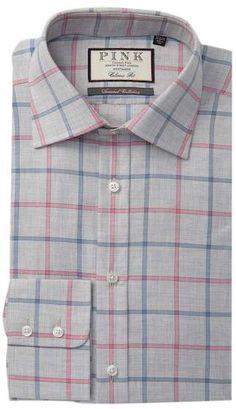 fb9bb4a4 Thomas Pink Jarlwindow Pane Check Classic Fit Dress Shirt Thomas Pink,  Fitted Dress Shirts,